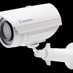 Geovision GV-EBL2100-2F 2MP H.264 Low Lux WDR IR 3.8mm Mini IP Bullet Camera (White)