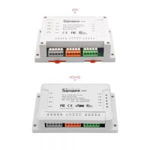 Sonoff 4CH - Công tắc WiFi thông minh 4 cổng
