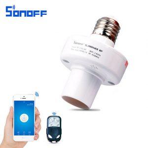 Sonoff Slampher RF – Chuôi đèn thông minh điều khiển qua sóng WiFi