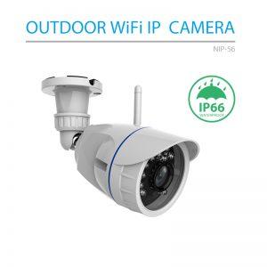 Camera Wifi thông minh ngoài trời NIP-56AI - Tuya Smart