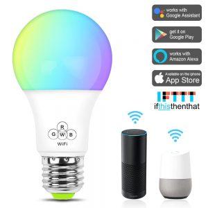 Bóng đèn LED 7 màu Wifi thông minh