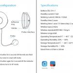 Hướng dẫn sử dụng Cảm biến rò rỉ nước Wifi thông minh Tuya