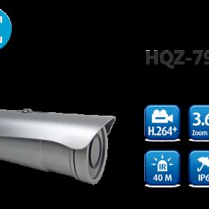 Camera nhận diện khuôn mặt 1080P H.264+ Motorized Bullet HQZ-79KDB (3.6X)