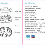 Hướng dẫn sử dụng Bộ điều khiển hồng ngoại Wifi thông minh Tuya