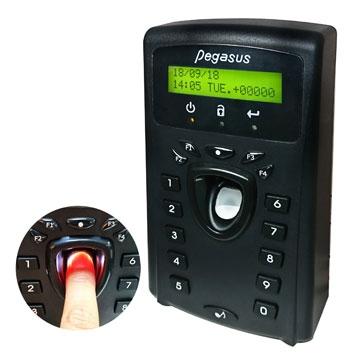 Bộ điều khiển + Máy chấm công vân tay chuẩn giao tiếp TCP/IP Pegasus PFP-3702T