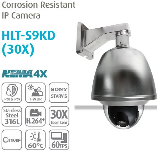 Camera IP chống ăn mòn chuyên dụng PTZ HLT-S9KD (30X)