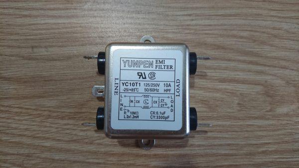 Bộ lộc nhiễu EMI-FILTER Pegasus R-27-YK10T1/125/250V