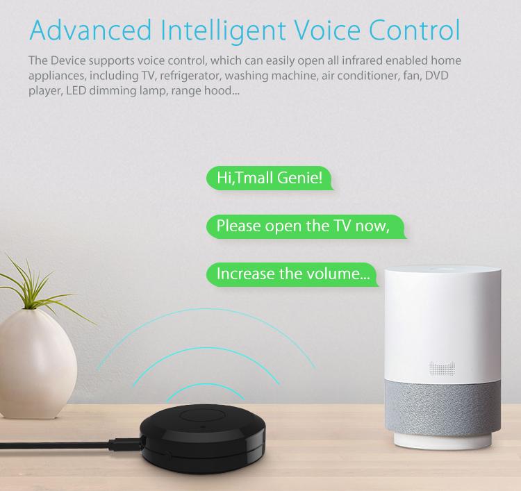 Bộ điều khiển hồng ngoại Wifi thông minh Tuya NAS-IR01W