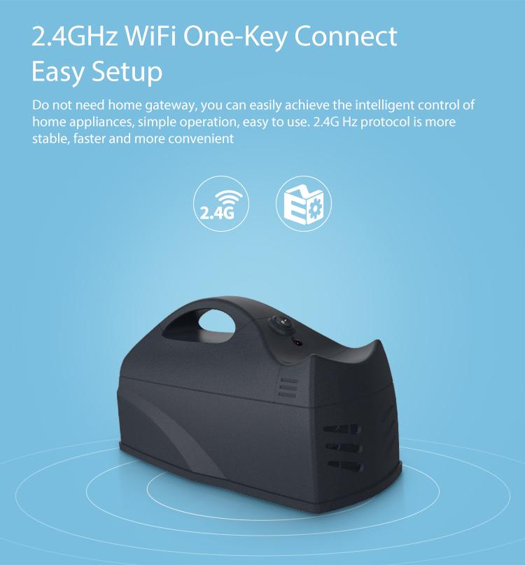 Bẫy chuột Wifi thông minh Tuya NAS-MT01W
