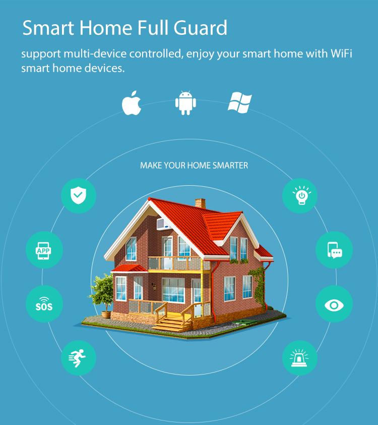 Cảm biến Wifi thông minh phát hiện mở cửa Tuya NAS-DS01W