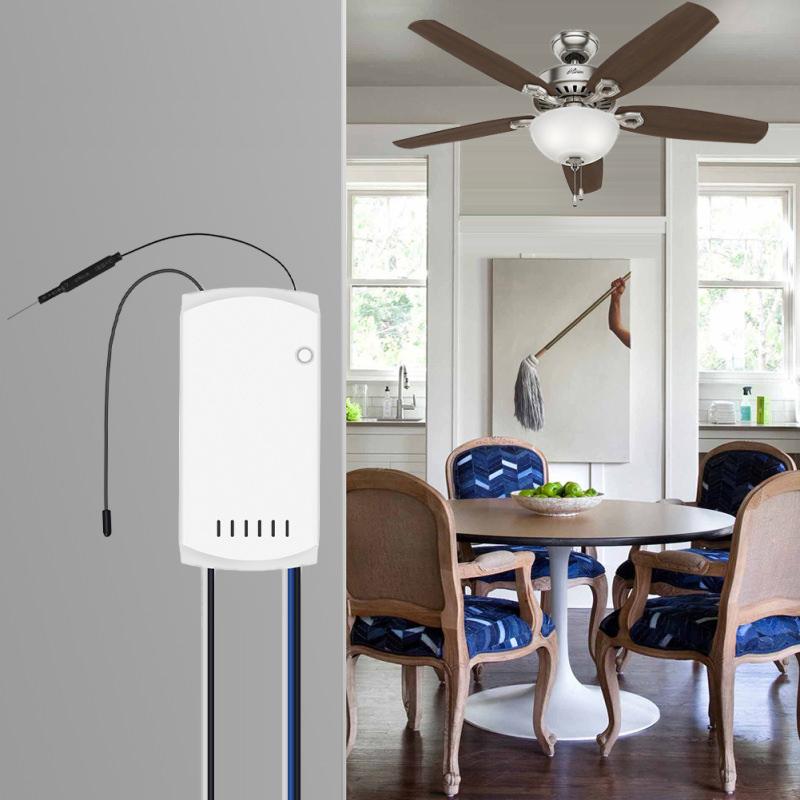 Sonoff IFan 03 - Bộ điều khiển quạt trần và ánh sáng qua Wi-Fi