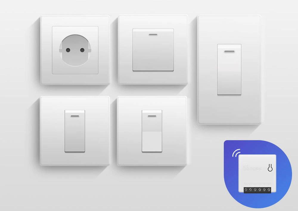 Sonoff MINI - Công tắc đèn đảo chiều WiFi thông minh