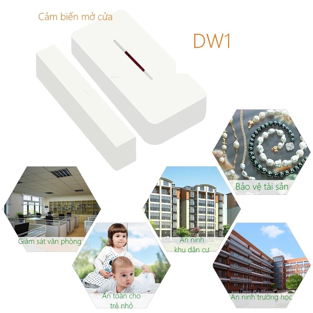 Sonoff Sensor DW1 - Cảm biến cửa