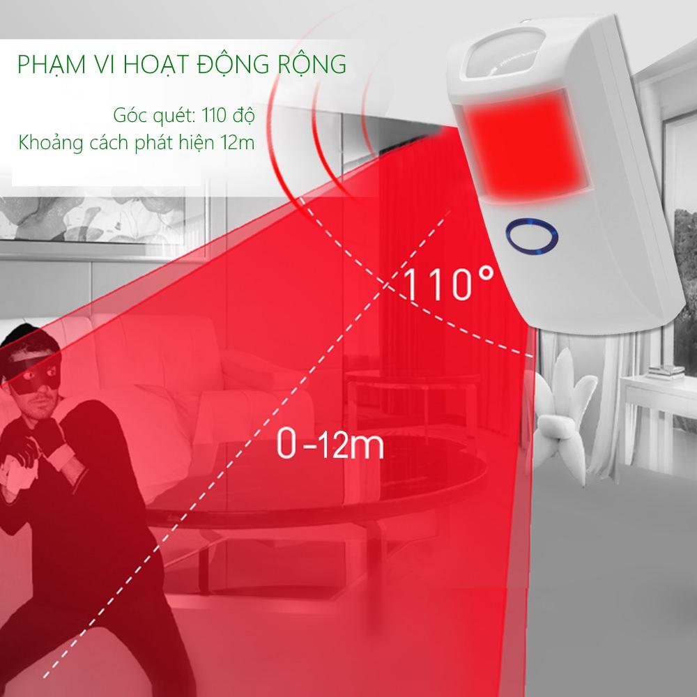 Sonoff Sensor PIR2 - Cảm biến hồng ngoại phát hiện chuyển động