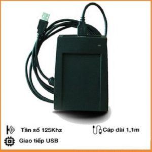 Đầu đọc thẻ RFID 125Khz cổng USB CR206U