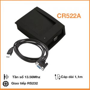Đầu Đọc và Ghi Thẻ RFID Mifare 13.56Mhz cổng RS232 (COM) CR522A
