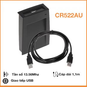 Đầu Đọc và Ghi Thẻ RFID Mifare 13.56Mhz cổng USB Virtual RS232 CR522AU