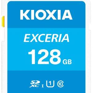 Thẻ nhớ 128GB Micro SDHC Exceria UHS-I C10 U1 100MB/s Kioxia (Có Adapter)