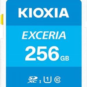 Thẻ nhớ 256GB Micro SDHC Exceria UHS-I C10 U1 100MBs Kioxia (Có Adapter)