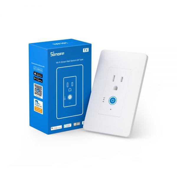 Sonoff IW100 – Công Tắc Thông Minh WiFi Gắn Tường Giám Sát Công Suất 15A