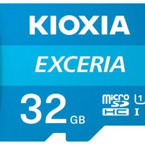 Thẻ nhớ 32GB Micro SDHC Exceria UHS-I C10 100MB/s Kioxia (Không có Adapter)