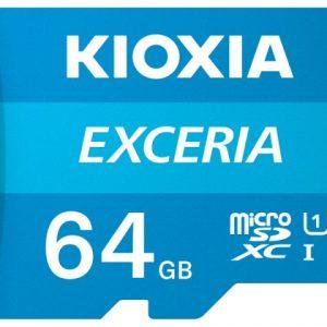 Thẻ nhớ 64GB Micro SDHC Exceria UHS-I C10 U1 100MB/s Kioxia (Không có Adapter)