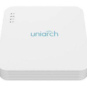 Đầu ghi hình 4 kênh POE 1 SATA Ultra 265 / H.265 / H.264 Uniarch NVR-104LS-P4